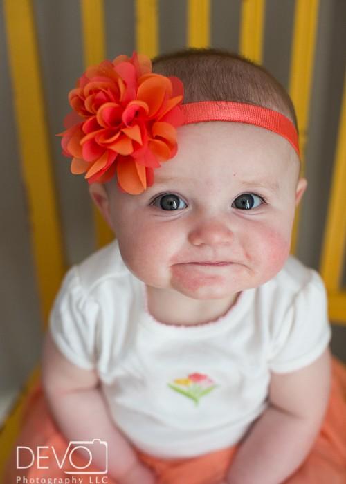Denver Children's Photographer - McKenna 6th Months