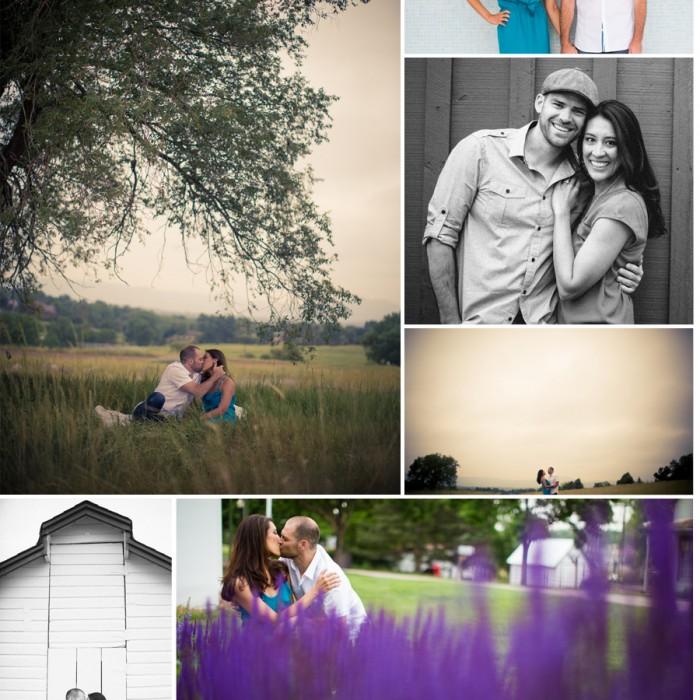 Denver Engagement Photos - Nima and Scott
