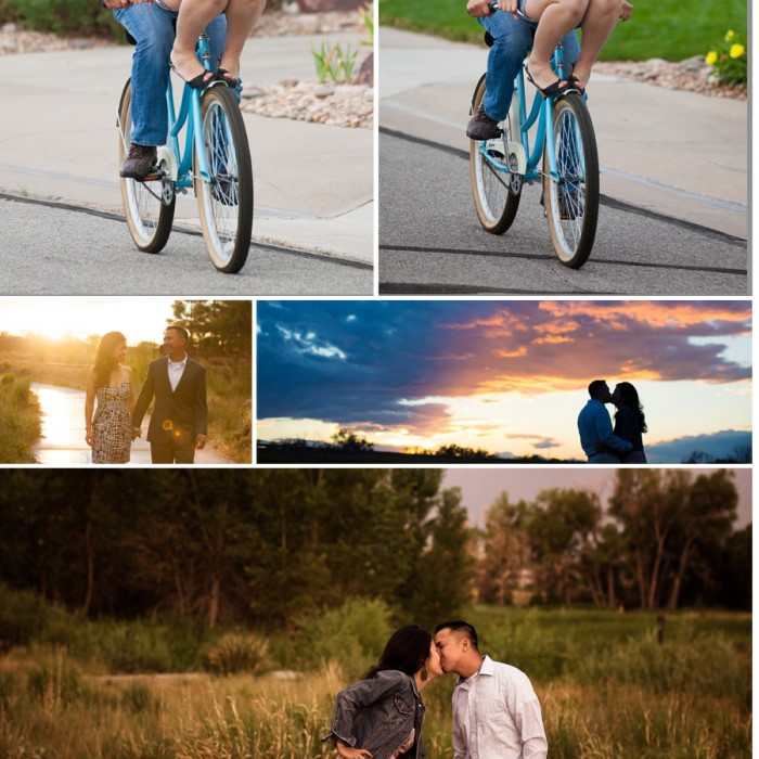 Cute Denver Engagement Session - Benny and Thanh