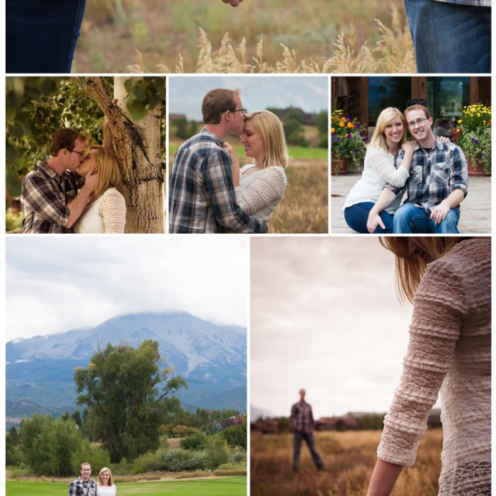 Aspen Engagement Session - Rebecca and Travis