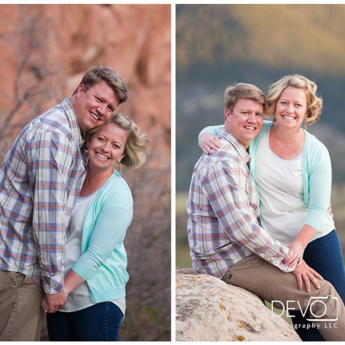 Spring Engagement in the Colorado Foothills - Lesley and RJ