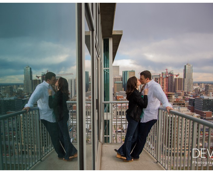 Glass House Engagement Session - Dalia and Eric