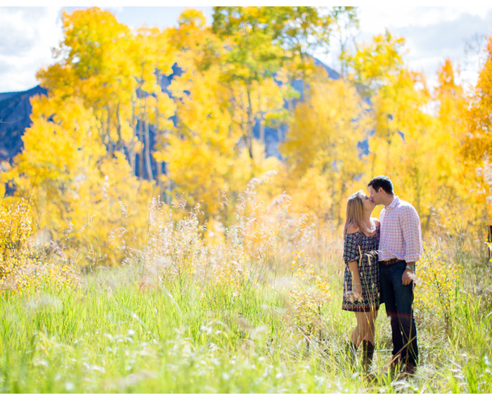 Fall Engagement in Silverthorne -plus furry friends