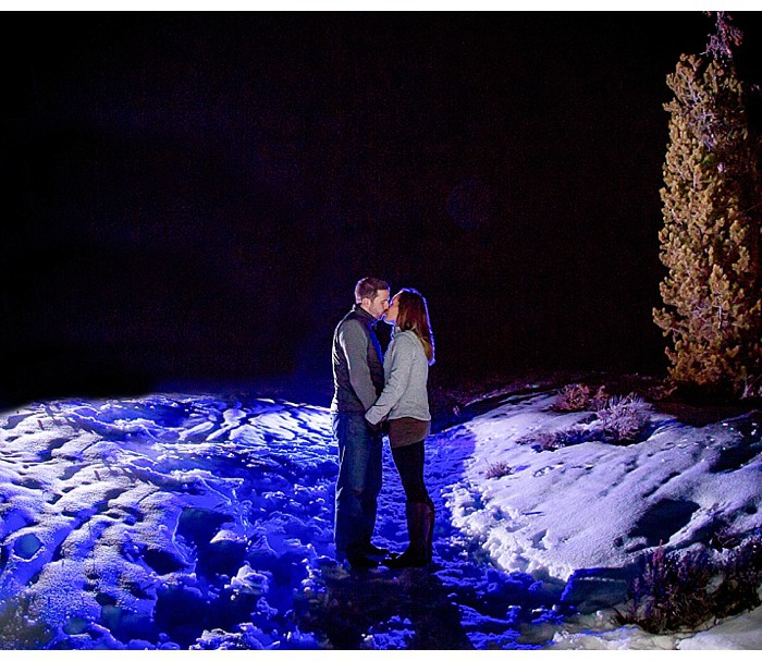 Colorado Winter Engagement Shoot - Brittany & Steve