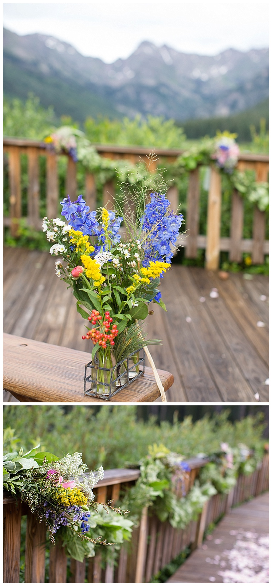 03 Flowers at Piney River Ranch Ceremony Site