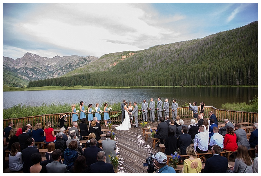 07 Wedding ceremony at Piney River Ranch Vail