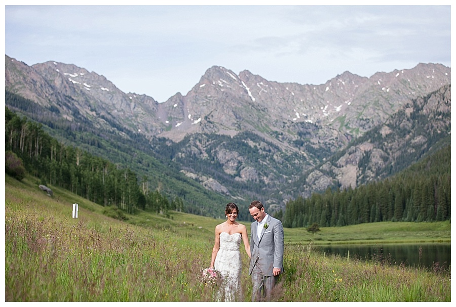 10 Bride and Groom on mountain top Piney River Ranch