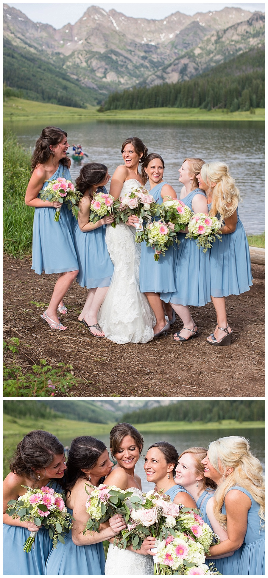 11 Bride with Bridemaids Piney River Ranch