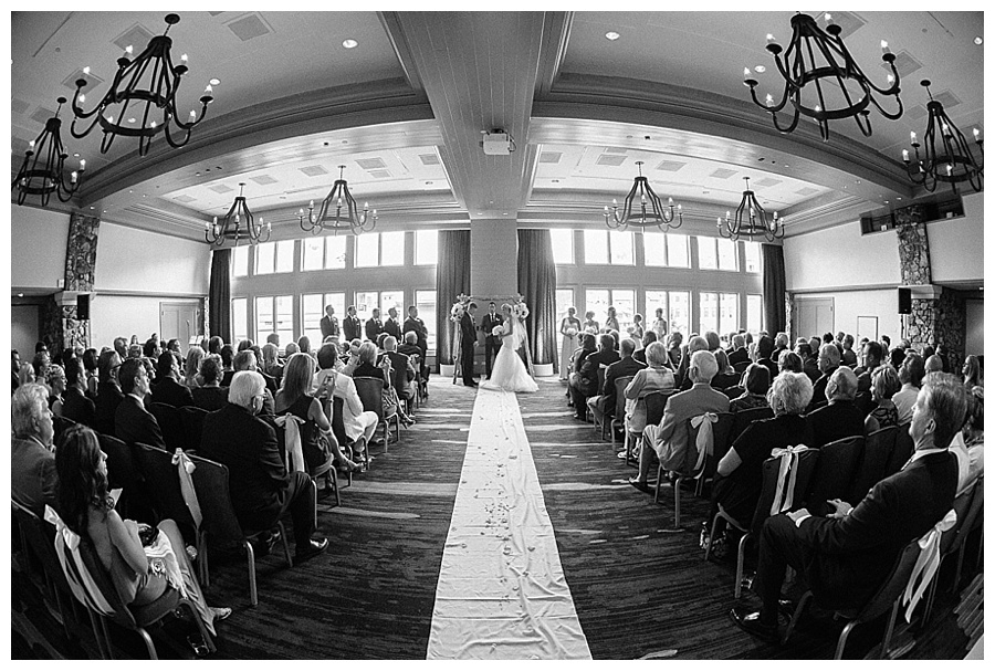 21 Ceremony at Beaver Creek Park Hyatt wedding