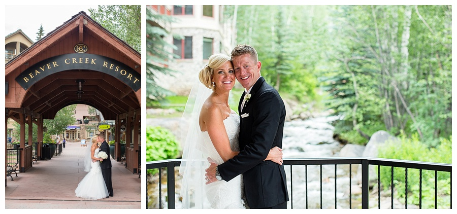 23 Bride and Groom in Beaver Creek wedding photos