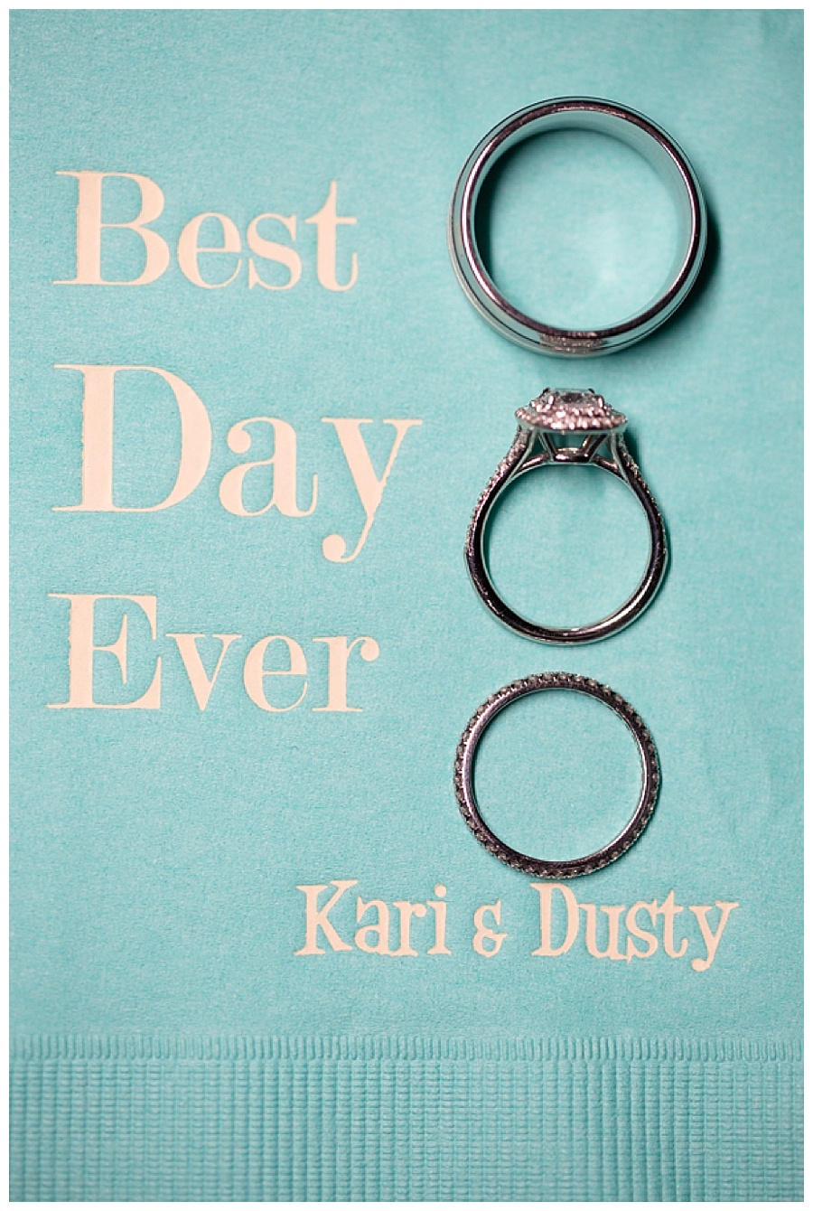 35 Best Day Ever Wedding Ring Photo