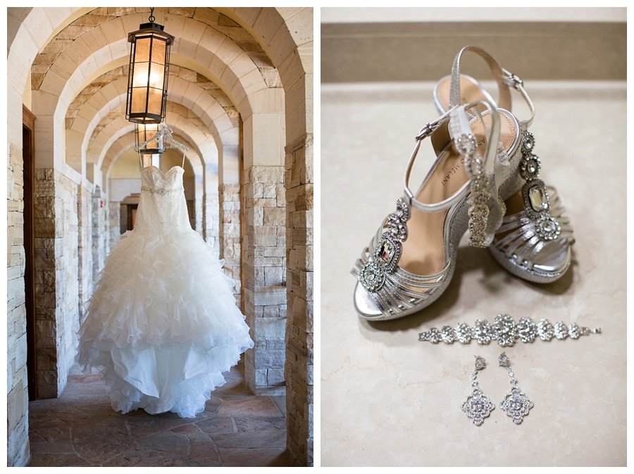 02 Wedding dress and shoes sanctuary golf course