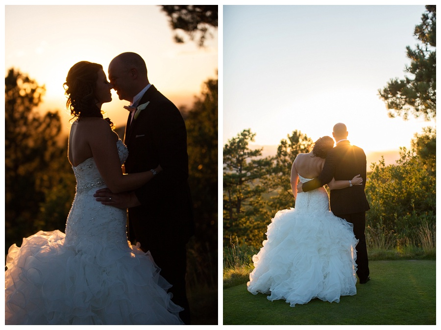 21 Awesome sunset photos of bride and groom at sanctuary golf course
