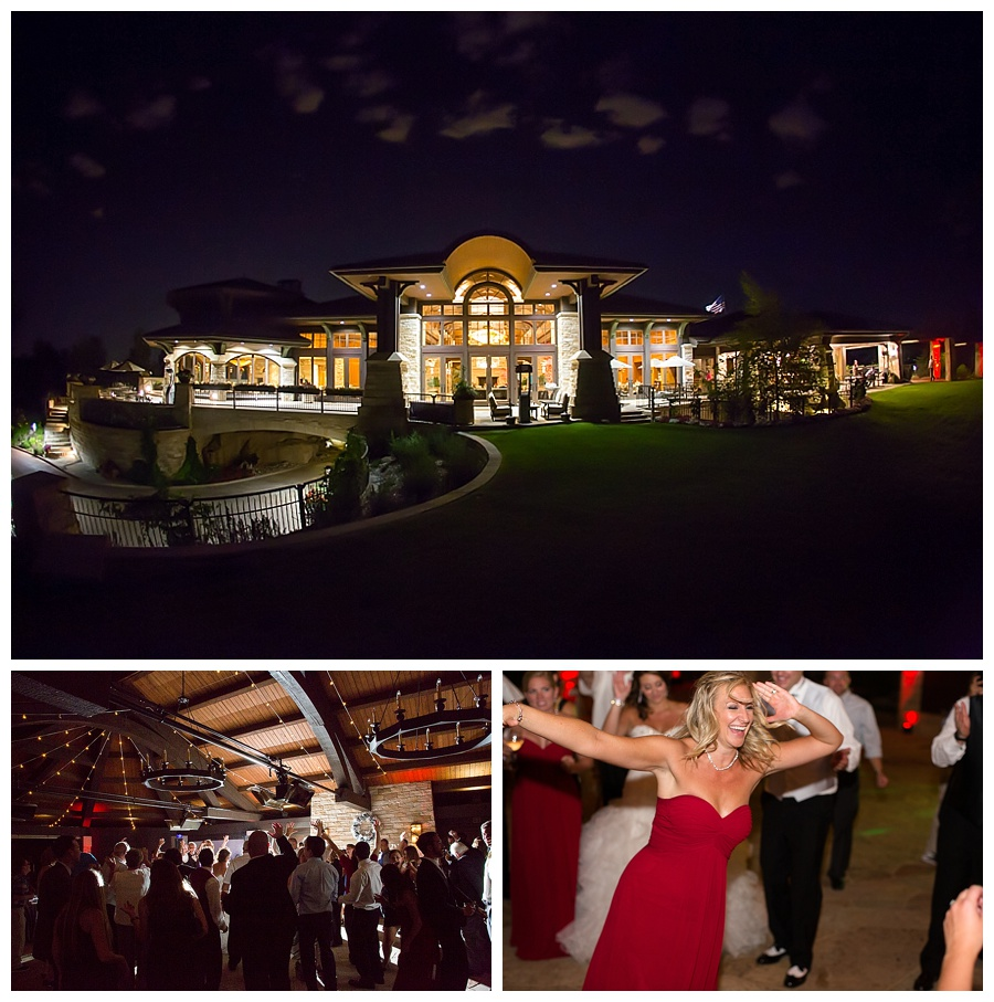 25 sanctuary golf course wedding reception at night