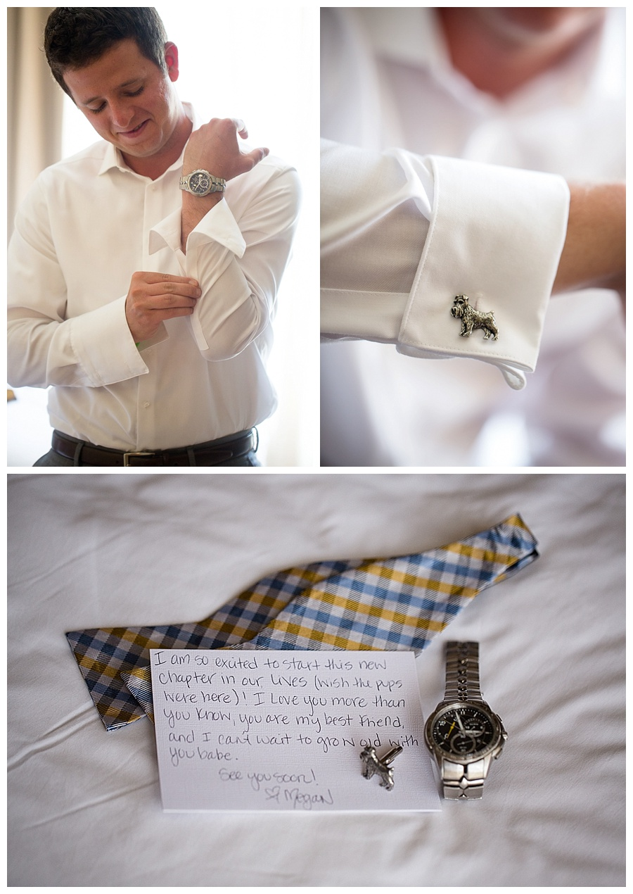 Aspen groom cuff links