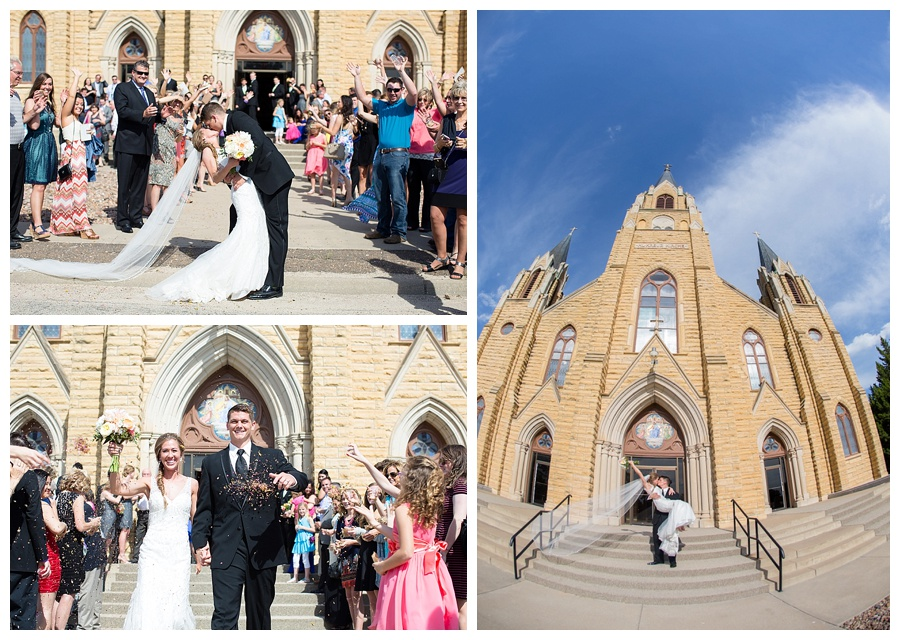 Hayes Kansas church wedding