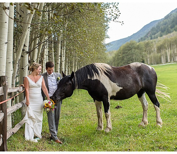 Spectacular Colorado Mountain Ranch Wedding in Aspen - Megan and JT