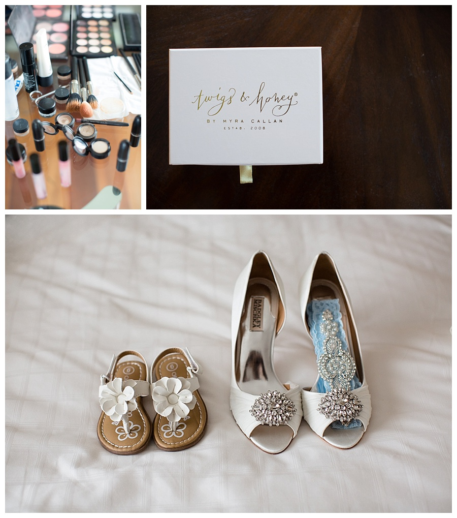 beautiful shoes for the bride
