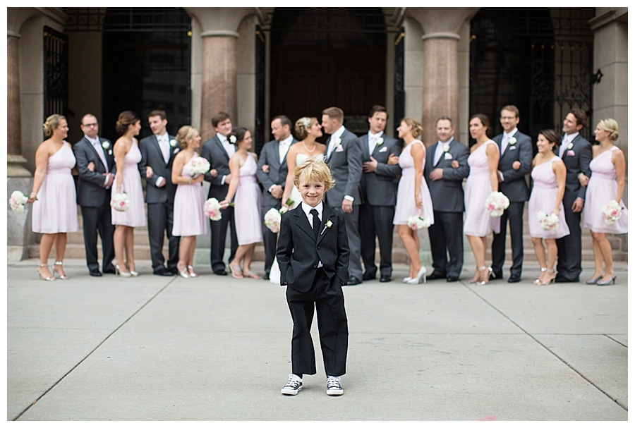 cute ring bearer downtown Denver