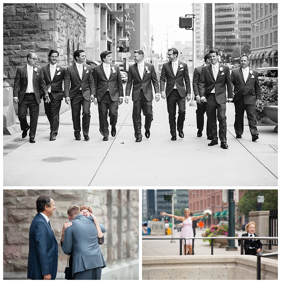 downtown Deenver wedding shots