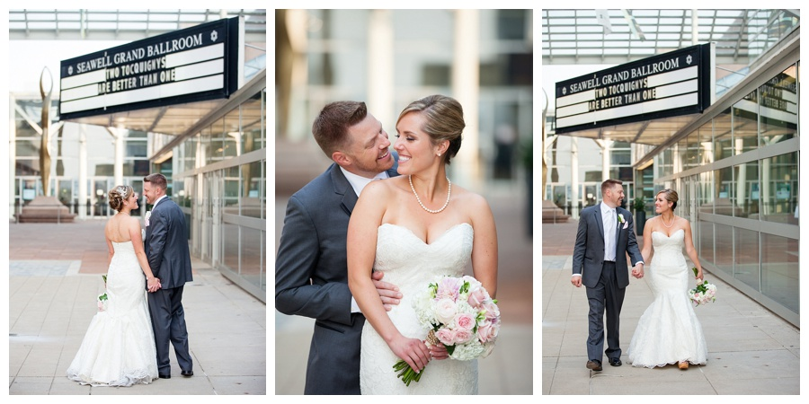 urban wedding in downtown Denver
