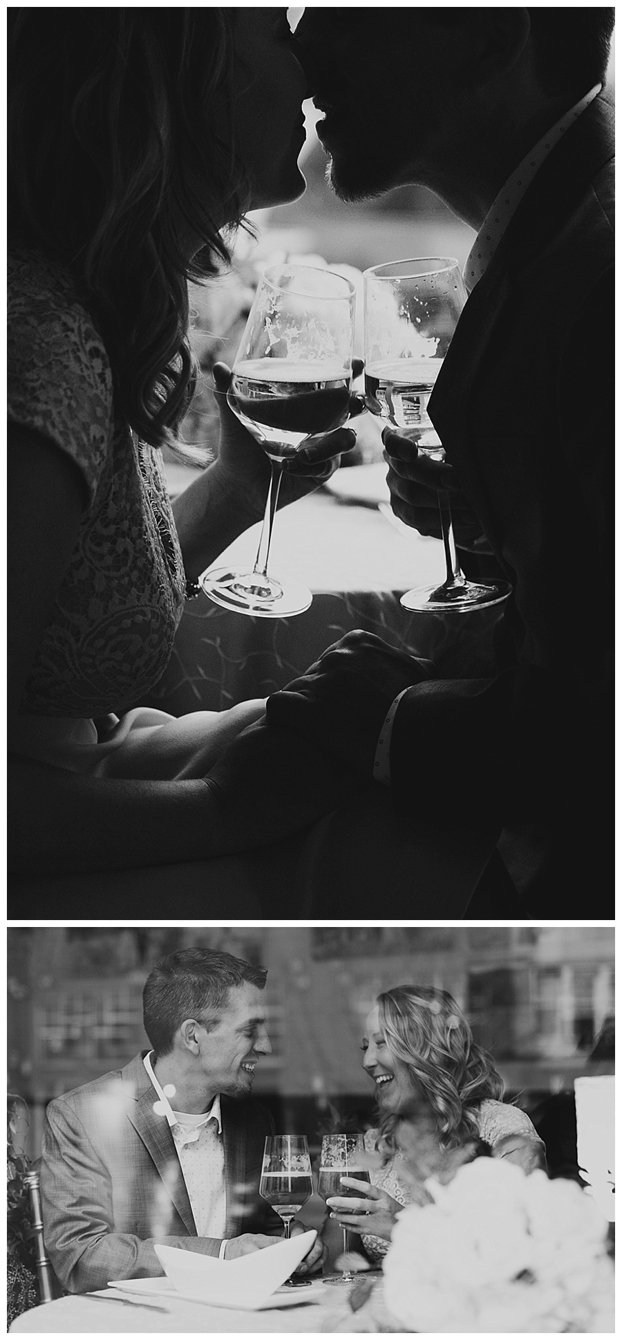 02 Date night themed engagement photos
